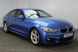 USED 2016 16 BMW 4 SERIES GRAN COUPE 3.0 430D M SPORT GRAN COUPE 4DR AUTO 255 BHP FULL SERVICE HISTORY 1 OWNER  FULL SERVICE HISTORY + HEATED LEATHER SEATS + SATELLITE NAVIGATION PROFESSIONAL + PARKING SENSOR + BLUETOOTH + CRUISE CONTROL + CLIMATE CONTROL + XENON HEADLIGHTS + MULTI FUNCTION WHEEL + ELECTRIC WINDOWS + DAB RADIO + ELECTRIC MIRRORS + RADIO/CD/AUX/USB + 18 INCH ALLOY WHEELS