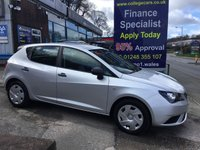 USED 2012 12 SEAT IBIZA 1.2 CR TDI ECOMOTIVE S AC 5d 74 BHP, only 58000 miles ***GREAT FINANCE DEALS AVAILABLE***