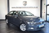 USED 2015 15 VOLKSWAGEN PASSAT 2.0 S TDI BLUEMOTION TECHNOLOGY 4DR 148 BHP full service history *NO ADMIN FEES* FINIHSED IN STUNNING URANO GREY WITH GREY CLOTH UPHOLSTERY + FULL SERVICE HISTORY + BLUETOOTH + MULTI FUNCTION STEERING WHEEL + DAB RADIO + STOP/START FUNCTION + AUXILIARY PORT + USB PORT + 16 INCH ALLOY WHEELS