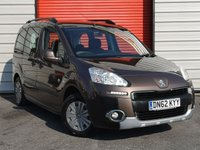 USED 2013 62 PEUGEOT PARTNER 1.6 HDI TEPEE OUTDOOR 5d 112 BHP