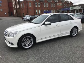 2010 MERCEDES-BENZ C CLASS 1.8 C180 CGI BLUEEFFICIENCY SPORT 4d 156 BHP £7995.00