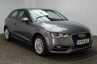 USED 2015 15 AUDI A3 2.0 TDI SE TECHNIK 3DR 148 BHP £20 ROAD TAX SERVICE HISTORY + £20 12 MONTHS ROAD TAX + SATELLITE NAVIGATION + PARKING SENSOR + BLUETOOTH + CRUISE CONTROL + MULTI FUNCTION WHEEL + AIR CONDITIONING + ELECTRIC WINDOWS + RADIO/CD + ELECTRIC MIRRORS + 16 INCH ALLOY WHEELS