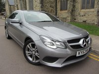 USED 2013 63 MERCEDES-BENZ E-CLASS 2.1 E220 CDI SE 2d 170 BHP + NAVIGATION + FULL LEATHER +