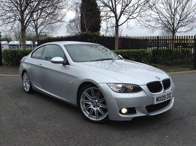 2009 09 BMW 3 SERIES 3.0 325D M SPORT 2d AUTO 195 BHP