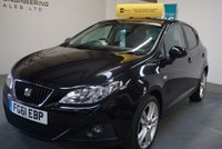 2011 SEAT IBIZA 1.2 TSI SPORT 5d 103 BHP £5699.00