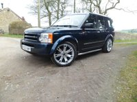 "USED 2007 57 LAND ROVER DISCOVERY 2.7 3 TDV6 GS 5d 7 SEAT 188 BHP FANTASTIC EXAMPLE MAINTAINED REGARDLESS OF COST. NEW CLUTCH. NEW AIR COMPRESSOR. NEW TIMING BELT. UPGRADE 22"" ALLOY WHEELS WITH NEW TYRES"