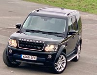 USED 2016 66 LAND ROVER DISCOVERY 3.0 SD V6 Landmark (s/s) 5dr LOW MILES! REAR DVD! TOP SPEC!