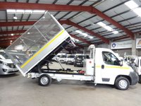 """USED 2012 12 CITROEN RELAY 2.2 35 L3 HDI 130 BHP CAGE TIPPER """"YOU'RE IN SAFE HANDS"""" - AA DEALER PROMISE"""