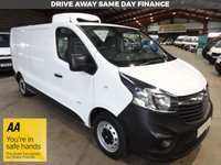 USED 2016 66 VAUXHALL VIVARO 1.6 2900 L2H1 CDTI P/V 115 BHP GAH FRIDGE/ FREEZER / CHILLER VAN '' YOU'RE IN SAFE HANDS  ''  WITH THE AA DEALER PROMISE