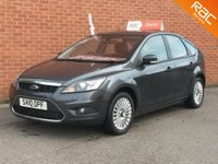 2010 FORD FOCUS 2.0 TITANIUM TDCI 5d  FULL BLACK LEATHER £3995.00