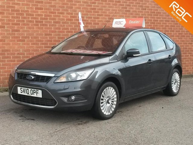 2010 10 FORD FOCUS 2.0 TITANIUM TDCI 5d  FULL BLACK LEATHER