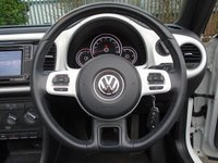 USED 2015 15 VOLKSWAGEN BEETLE 1.2 TSI DESIGN 20,000 MILES CONVERTIBLE PART EXCHANGE AVAILABLE / ALL CARDS / FINANCE AVAILABLE