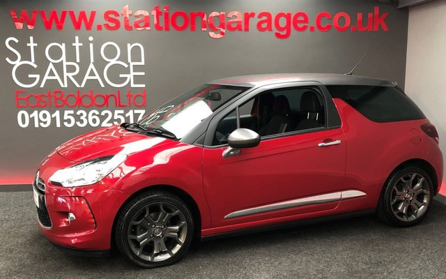 2014 14 CITROEN DS3 1.6 E-HDI DSTYLE PLUS 3d 90 BHP