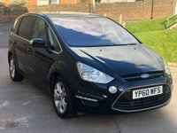 USED 2010 60 FORD S-MAX 2.0 TITANIUM TDCI 5d AUTO 138 BHP 2 PREVIOUS KEEPERS *  PARKING AID *  FULL SERVICE RECORD *  FULL YEAR MOT *  CLIMATE CONTROL *