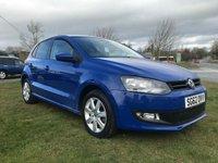 2012 VOLKSWAGEN POLO 1.2 MATCH 5 DOOR 1 OWNER 34000 MILES FULL VW SERVICE HISTORY  £5995.00