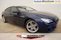 USED 2016 65 BMW 6 SERIES 3.0 640D M SPORT GRAN COUPE 4d AUTO 309 BHP
