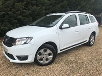 USED 2016 DACIA LOGAN 1.5 dCi Laureate 5dr 1 OWNER WITH SERVICE HISTORY