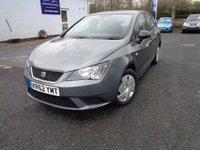 2012 SEAT IBIZA 1.2 S A/C 5d 69 BHP £4350.00