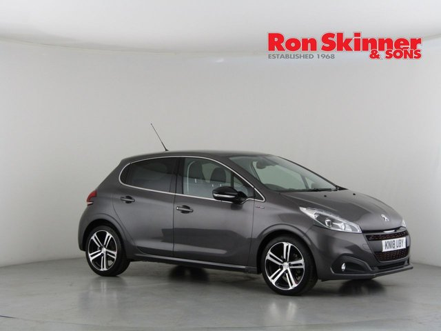 View our 2018 18 PEUGEOT 208 1.6 BLUE HDI GT LINE 5d 100 BHP
