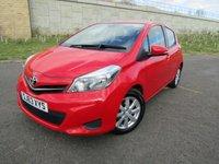 2013 TOYOTA YARIS 1.0 VVT-I TR 5d 68 BHP £5295.00