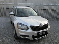 USED 2014 14 SKODA YETI 2.0 OUTDOOR ELEGANCE TDI CR 5d 109 BHP 1 PREV OWNER HEATED  BLACK LEATHER