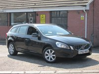 2012 VOLVO V60 2.0 D3 ES (SAT NAV+LEATHER) 5dr £6990.00