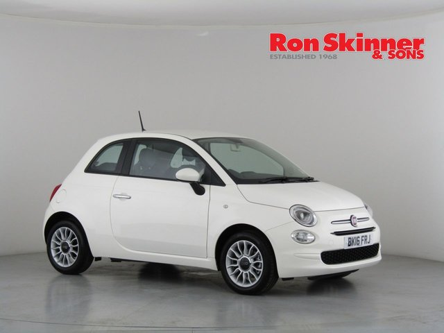 View our 2016 16 FIAT 500 1.2 ECO POP STAR 3d 69 BHP