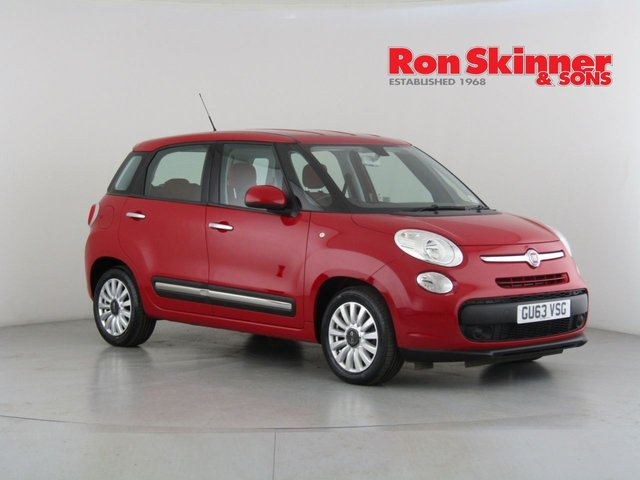 View our 2013 63 FIAT 500L 1.4 POP STAR 5d 95 BHP
