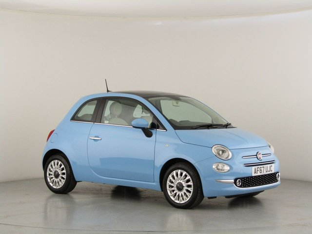 View our 2017 67 FIAT 500 1.2 LOUNGE 3d 69 BHP