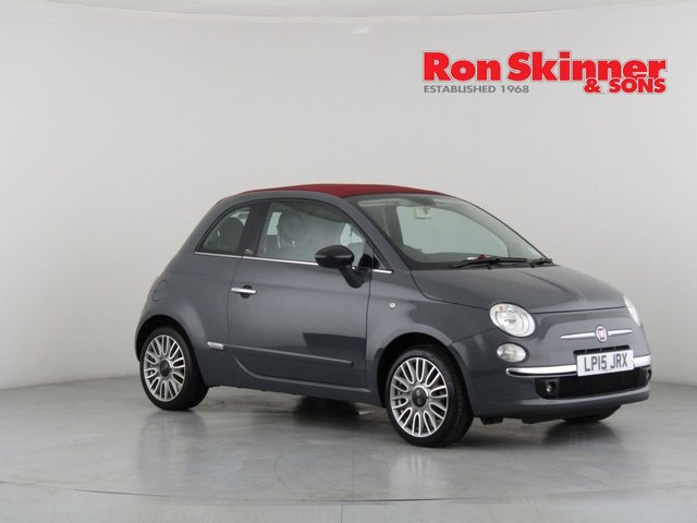 View our 2015 15 FIAT 500 1.2 C CULT 3d 69 BHP