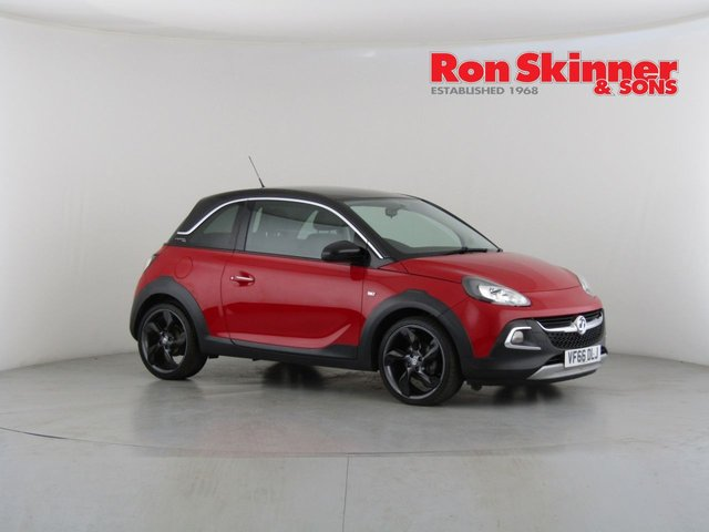 View our 2017 66 VAUXHALL ADAM 1.4 ROCKS 3d 85 BHP