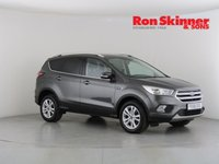 USED 2018 68 FORD KUGA 1.5 ZETEC TDCI 5d 118 BHP with Appearance Pack + SYNC3 Nav