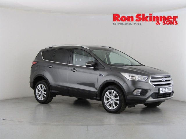 View our 2018 68 FORD KUGA 1.5 ZETEC TDCI 5d 118 BHP with Appearance Pack + SYNC3 Nav