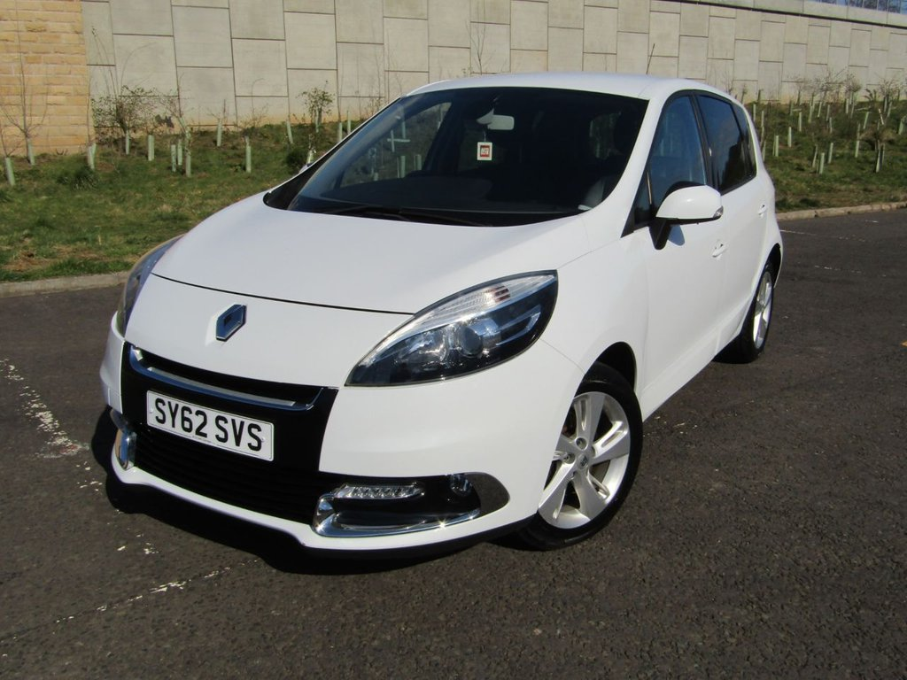 USED 2012 62 RENAULT SCENIC 1.5 DYNAMIQUE TOMTOM ENERGY DCI S/S 5d 110 BHP FANTASTIC MPG