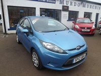 2012 FORD FIESTA 1.2 STYLE 5d 59 BHP £3800.00