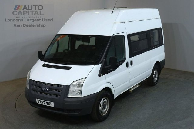 2012 62 FORD TRANSIT 2.2 350 MWB H/ROOF 124 BHP RWD DISABLED ACCESS WITH LIFT