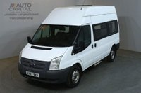 USED 2012 62 FORD TRANSIT 2.2 350 MWB H/ROOF 124 BHP RWD DISABLED ACCESS WITH LIFT ONE OWNER FULL S/H SPARE KEY