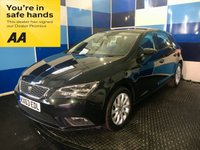 "USED 2013 63 SEAT LEON 1.2 TSI SE TECHNOLOGY 5d 105 BHP A stunning example of this highly desirable sporty family hatchback finished in unmarked metalic phantom black contrasted with 16"" 10 spoke alloy wheels,this car comes fully loaded with voice control system,  touch screen satelite navigation,dab cd radio with media interface,front and rear fog lights,onboard computer,air conditioning,bluetooth phone conectivity,plus all the usual refinements. This car looks and drives superbly returning a combined ecconomy of 57.6 mpg inconjunction with £30 tax."
