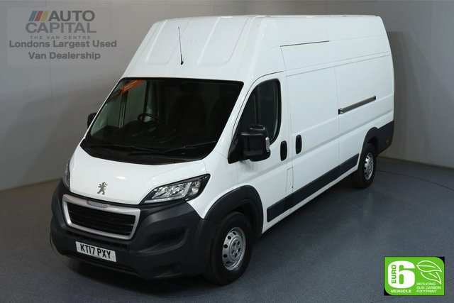 2017 17 PEUGEOT BOXER 2.0 BLUE HDI 435 L4H3 XLWB 130 BHP EURO 6 ENGINE MANUFACTURER WARRANTY UNTIL 22/07/2020