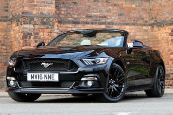 2016 FORD MUSTANG 5.0 V8 GT (Custom Pack) 3dr £28477.00
