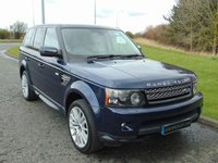"USED 2012 12 LAND ROVER RANGE ROVER SPORT 3.0 SDV6 HSE 5d AUTO 255 BHP SAT NAV, 20"" ALLOYS, LEATHER"