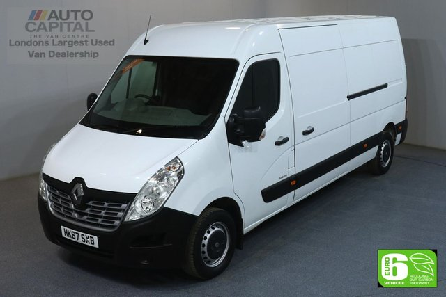2017 67 RENAULT MASTER 2.3 LM35 BUSINESS L3H2 LWB 130 BHP AIR CON EURO 6 MANUFACTURER WARRANTY UNTIL 26/12/2020