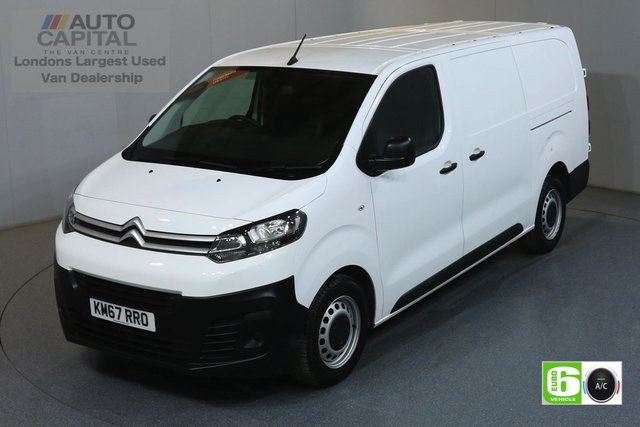 2018 67 CITROEN DISPATCH 1.6 XL 1200 ENTERPRISE BLUEHDI LWB 6d 94 BHP AIR CON ONE OWNER FROM NEW, MANUFACTURER WARRANTY UNTILL 27/02/2021, AIR CONDITIONING