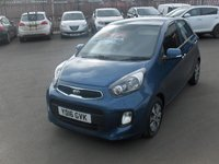 USED 2016 16 KIA PICANTO 1.2 2 ISG 5d 84 BHP BALANCE OF MANUFACTURERS SEVEN YEAR WARRANTY