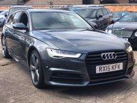 2015 AUDI A6 2.0 AVANT TDI ULTRA BLACK EDITION 5d AUTO 188 BHP £16400.00