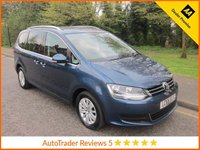 USED 2015 65 VOLKSWAGEN SHARAN 2.0 SE TDI BLUEMOTION TECHNOLOGY DSG 5d AUTO 148 BHP Very Nice Lady Owned Automatic Volkswagen Sharan with Climate Control Cruise Control, Alloy Wheels and Volkswagen Service History. EURO 6