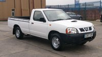 2007 NISSAN NAVARA 2.5 SCB 4X2  PICK UP 1 TONNE  2 OWNERS F/S/H FREE 12 MONTHS WARRANTY COVER  £3700.00