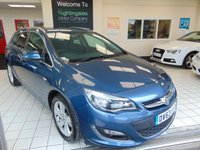 USED 2013 63 VAUXHALL ASTRA 2.0 SRI CDTI S/S 5d  ESTATE 163 BHP FULL SERVICE HISTORY + A FULL MOT + CRUISE CONTROL + AIR CONDITIONING + ALLOYS + CD RADIO + REMOTE CENTRAL LOCKING + ELECTRIC WINDOWS