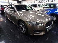 2016 JAGUAR XF 2.0 R-SPORT 4d AUTO 177 BHP £16999.00