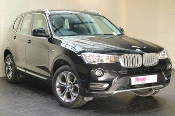 2016 BMW X3 2.0 XDRIVE20D XLINE 5d 188 BHP £18280.00